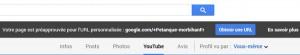 Bouton Obtenur une URL sur google plus