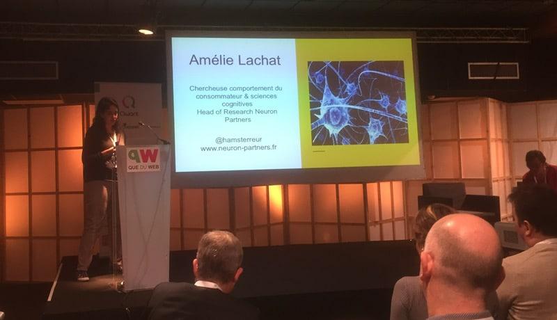 Amélie Lachat spécialiste Neuromarketing et Neurosciences