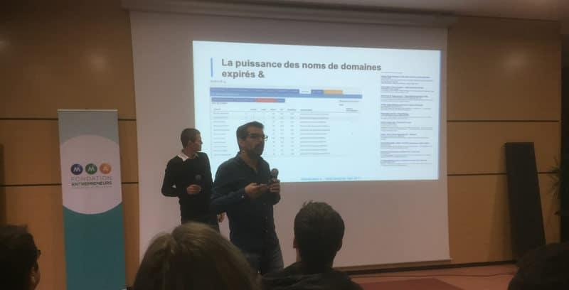 Paul Sanches et Mathieu Gheerbrant au webcampday